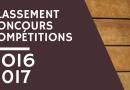 Classement concours compétitions