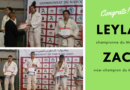 Championnat du Maroc – Leyla et Zac sur le podium