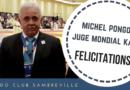 Michel Pongoli – Juge mondial kata