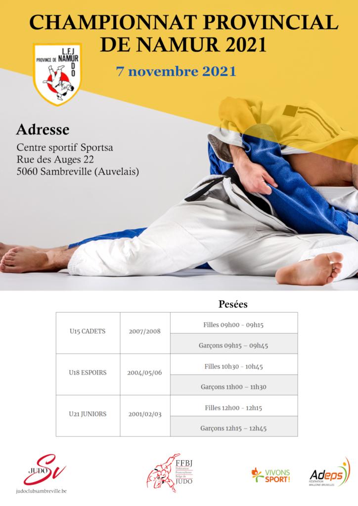 Championnat de la Province de Namur 2021